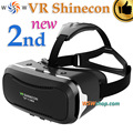 Shinecon vr 2.0 ii óculos de realidade virtual 3d headset google papelão caixa de smartphones óculos vr capacete para 4.7-6' telefone móvel