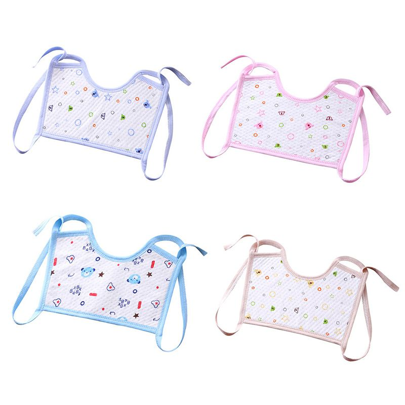 1 Pc New Baby Socks Towel Cotton Baby Mouth Pocket Baby Supplies Mouth Water Towel Bib Color Dots Newborn Baby Bibs