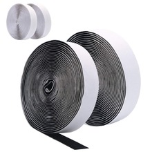 5M*20mm Hook and Loop Fastener, Self Adhesive Sticky Tape, Heavy Duty Tape Reusable Double Sided 20mm