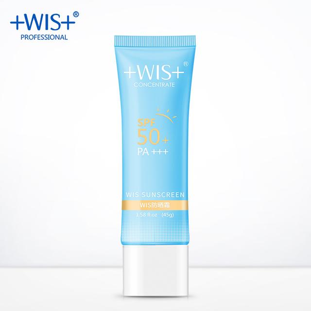 WIS  sunscreen waterproof facial sunscreen SPF50+ PA+++ Women UV Radiation Sun Protective Sunscreen Cream Facial Skin Care