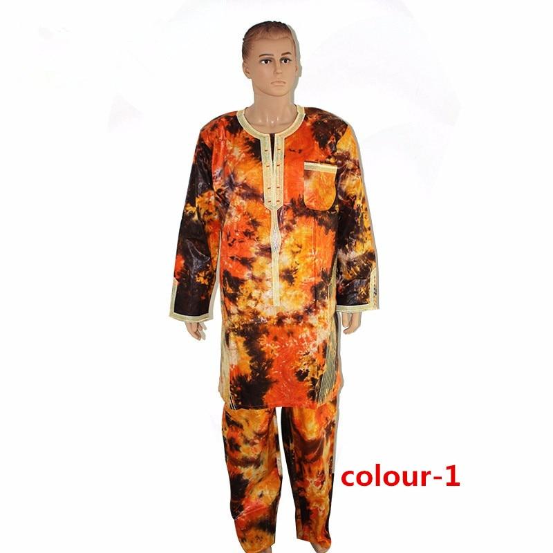 864e6962c H   D Africano Vestes de design de roupas masculinas projeto twopiece  vestido bazin africano bom bordado camisa dos homens com calças em Roupas  áfrica de ...