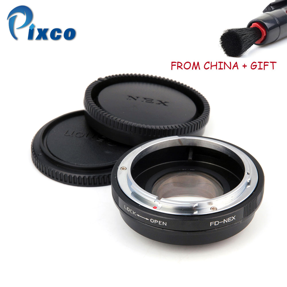 ADP Focal Reducer Speed Booster Lens Adapter Ring Suit For Canon FD to Suit for Sony NEX For A5100 A6000 5T 3N 6 5R A7 A7s VG900 pixco focal reducer speed booster l ens adapter suit for m42 lens to suit for sony e mount camera nex a6000 a3000 3n 6 5r