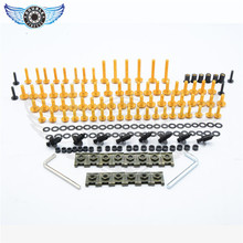 new motorcycle screws pike Bolts fit for Kawasaki ZX-6R ZX-10R ZX-12R ZX-14R ZX-9R ZZR400 600 1200 1400 ER6F 3 colors optional