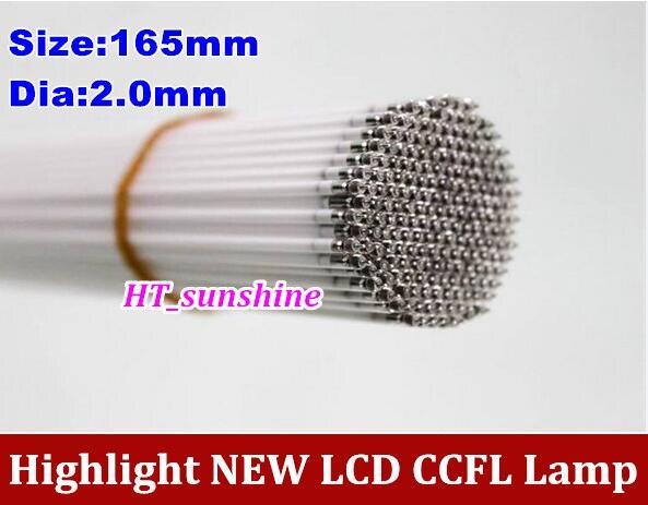 15PCS/LOT  CCFL 165mm LCD LAMPS 7inch 7'' 165*2mm CCFL Backlight Lamp LCD Monitors In Stock