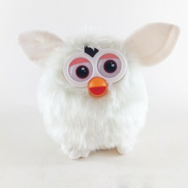 15cm Electronic Pets Furbiness Boom Talking Phoebe Interactive Pets Owl Electronic Recording Children Christmas Gift Toys