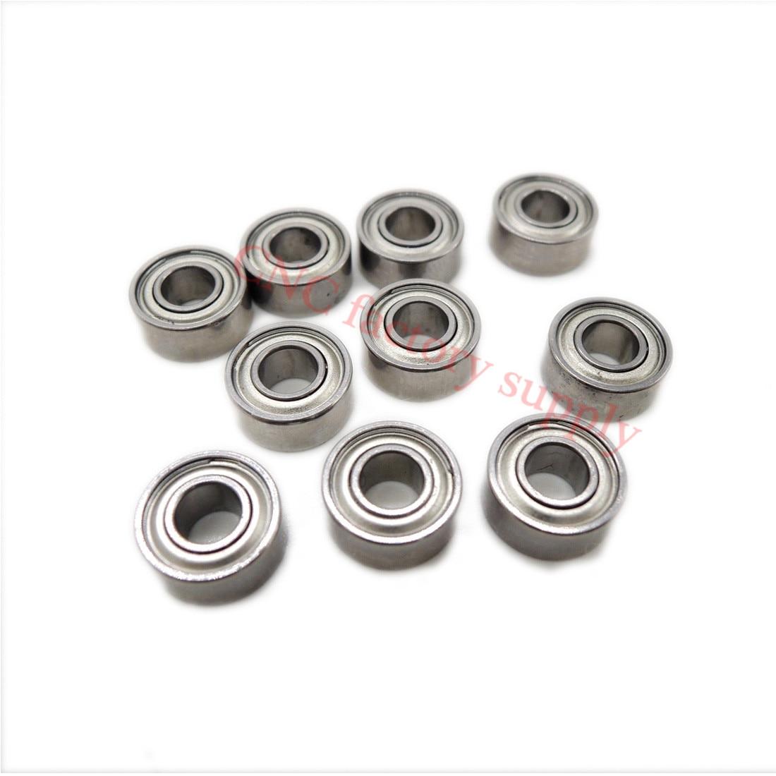 10pcs/lot Free Shipping MR84ZZ 4X8X3mm Miniature Deep Groove Ball Bearings MR84 L-840ZZ