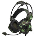 Auriculares sades sa931 surround gaming headset estéreo con cable verde del ejército con Control de Volumen del Mic para PC Gamer para PS4 Portátil # ET