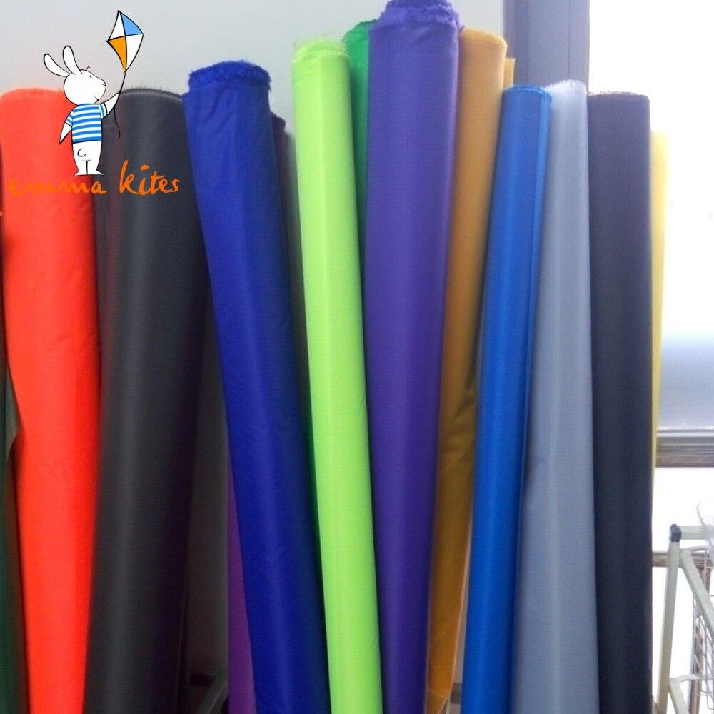 En gros Ripstop Nylon tissu rouleau 90m extérieur tissu hydrofuge tissu pour grand cascadeur puissance cerf-volant livraison gratuite