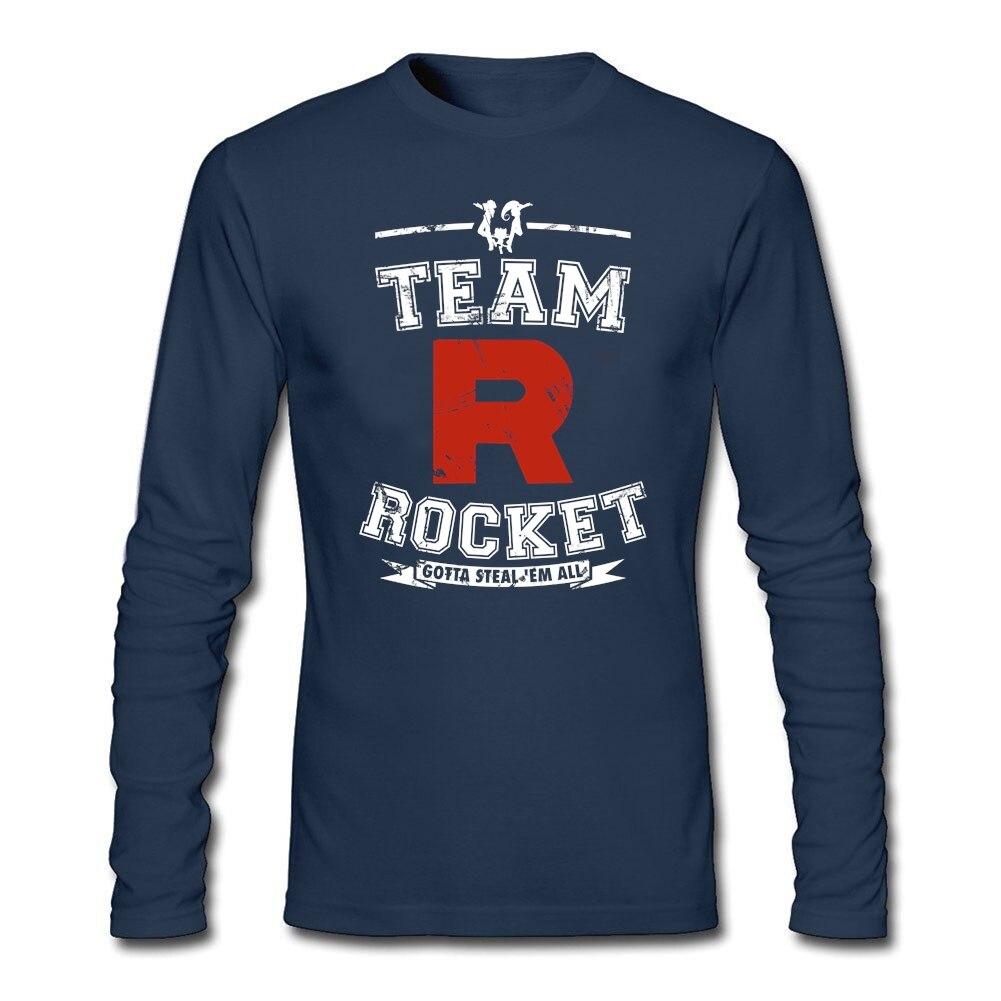 Shirt design words - Designs T Shirts For Men Birthday Adult Man Tee Team Rocket Natural Cotton Logo Words Design