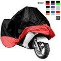 Capa Impermeável da motocicleta XL XXL Grosso Oxford jaqueta De Pano Motocicleta Cobrir Resistente AOS RAIOS UV de Proteção de Poeira Tampa Bicicleta de Corrida