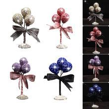 Car Ornaments Gypsophila Rhinestone crystal Balloon Interior Accessories ornaments