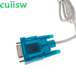 Image 4 - 1 adet HL 340 yeni USB RS232 COM portu seri PDA 9 pin DB9 kablo adaptör desteği Windows7 64