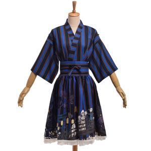 550c816eb59 BLESSUME Girls Striped Jacket Coat Top Pattern Print Skirt