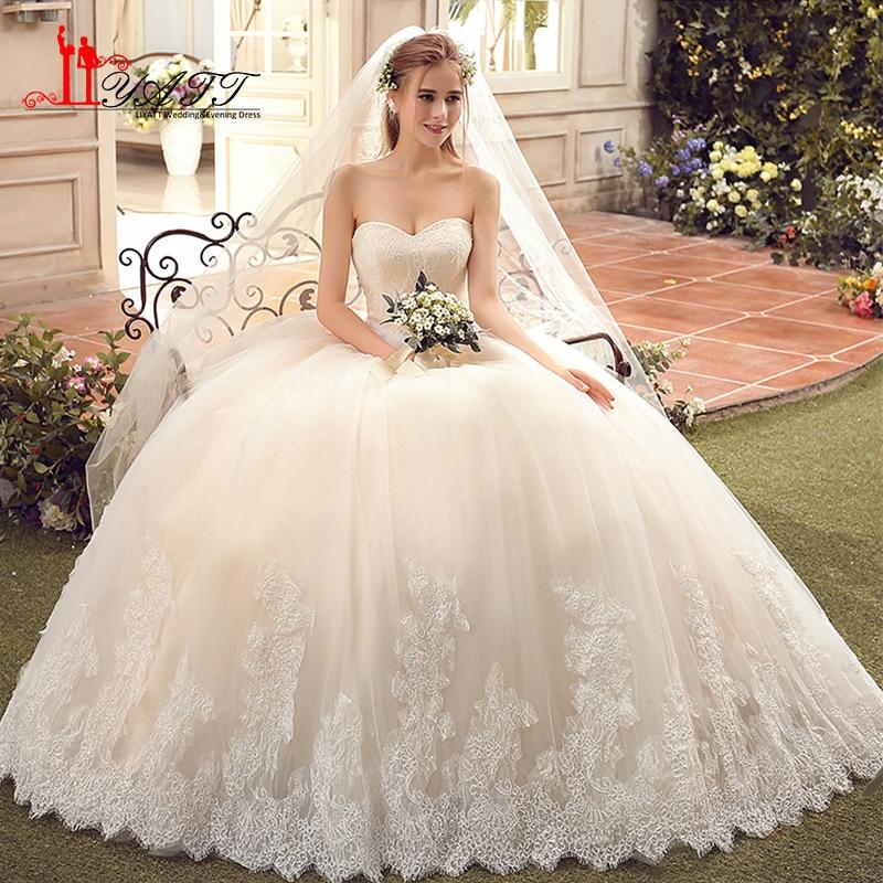 Vestido de Novia Vintage Ball Gown Wedding Dresses 2017 Plus Size ...