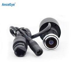 AnceEye hdminicam 1080p 2,1 мм широкоугольный объектив для дверной камеры видеонаблюдения внутри помещения Onvif P2P миниатюрная Пуля Мини ip веб-камера вор...