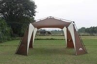 northwest oversized outdoor awning Multiplayer automatically pergola canopy tent canopy silver coating Anti UV