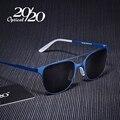 20/20 Marca Gafas de Sol Hombres Mujeres de La Vendimia Marco de Aleación de Gafas Gafas Accesorios Gafas de Conducción Gafas de Sol UV400 Oculos PC115