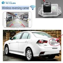 YESSUN car new hd wireless rear camera for Mitsubishi Lancer Fortis  iO GT 2007-2015 EX Evolution X 2007~2015