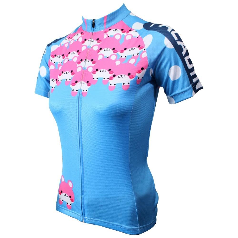 PALADIN ženska majica za bicikliste kratkih rukava s kratkim - Biciklizam - Foto 1