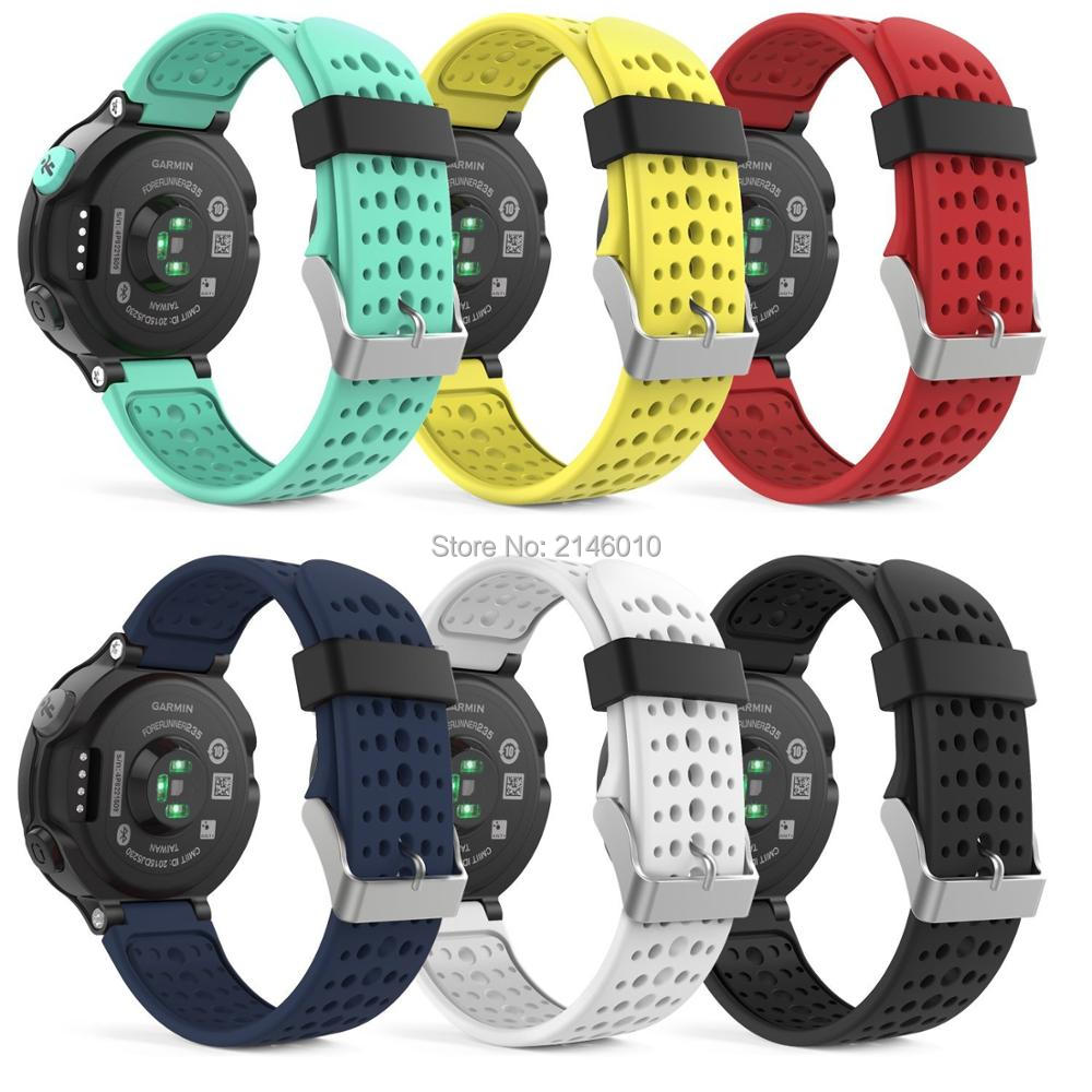 Für Garmin Forerunner 735XT 220 230 235 630 Silikonband Uhrenarmband ErsatzStrap