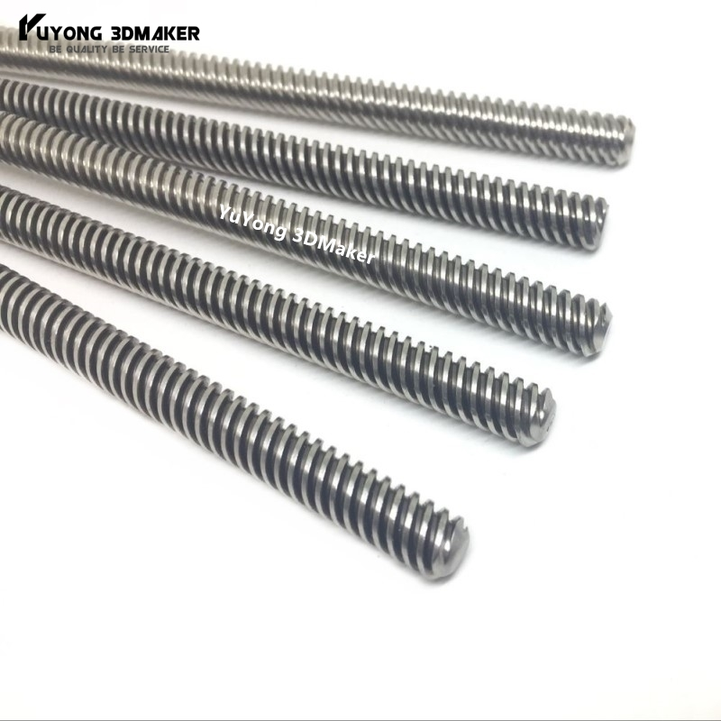 Tr8*8-2p(4 Starts) 8mm Metric Acme Lead Screw