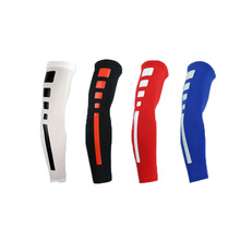 1pcs Running Man basketball armband extended sport elbow pads Arm Sleeve Compression Arm Warmers Elbow Protector brace Support