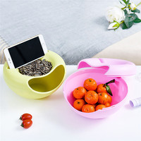 New Candy Snacks Containers Home Decorative Centerpiece Dry Fruit Candy Storage Box Nut Plate Dish Tray