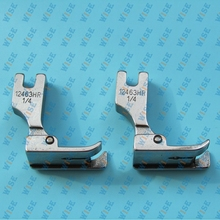 Hinged Right Raising Presser Foot With Guide for Top-Stitch #12463H 1/4 (2PCS)