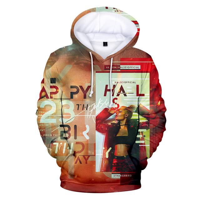 CUTE 3D HALSEY HOODIE