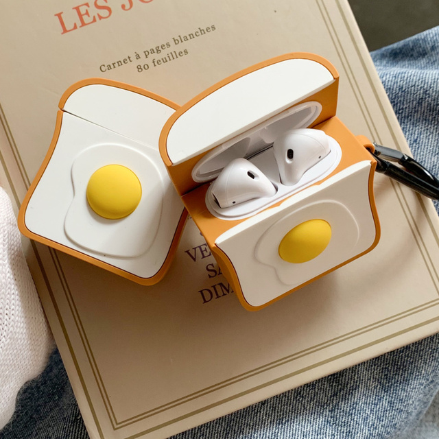 Eggs toast case for airpods