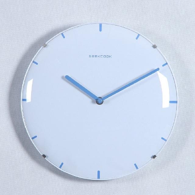 28CM Saat Clock Reloj Digital Wall Clock Duvar Saati Horloge Murale Relogio de parede Klok Watch 3D frameless glass wall clocks