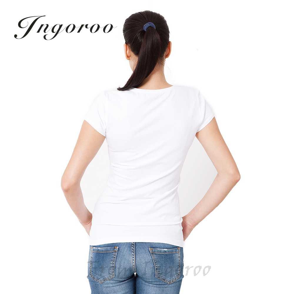 Babaseal Camiseta Rainha Kawaii Mulheres Tshirt Impressão Branco Tops Para As Mulheres Misfits Logotipo Letra T Camisa Camiseta T camiseta Femme