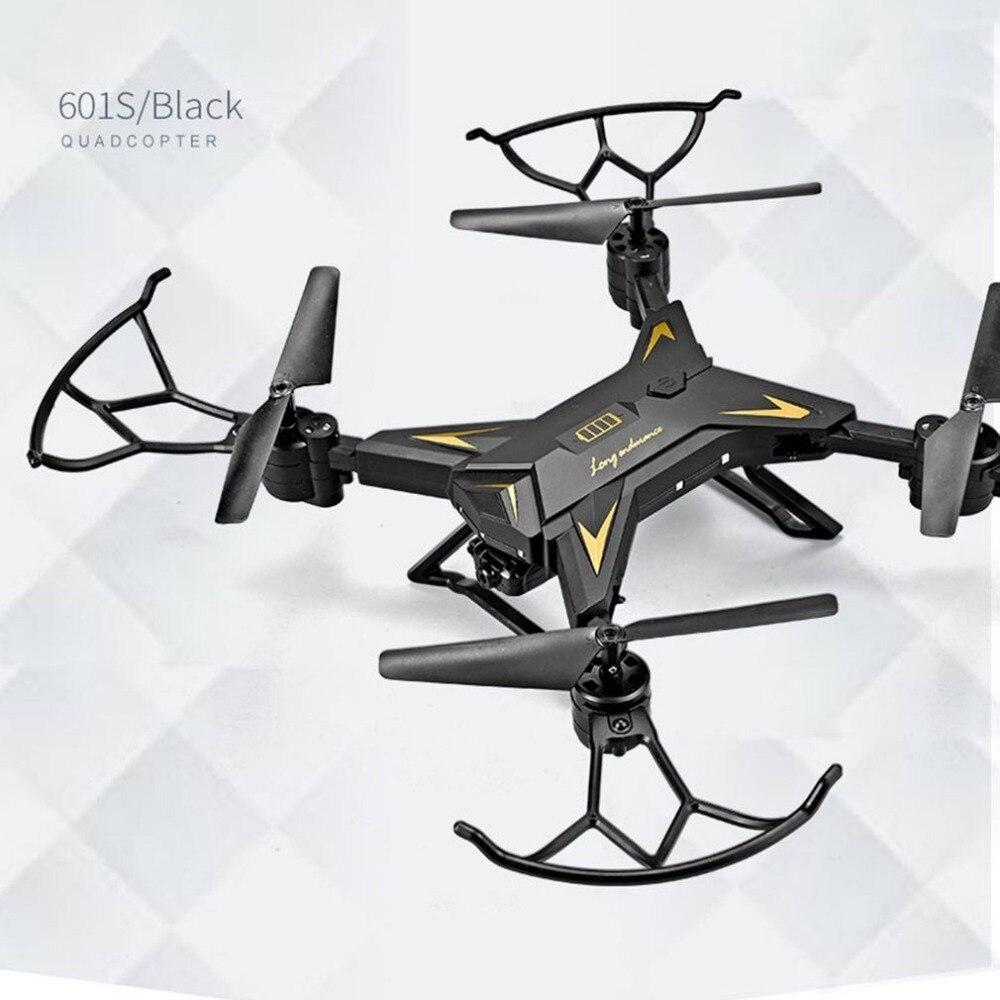 Navidad KY601S Full HD 1080 p 4 canales de larga duración plegable brazo RC quadrocopter con cámara Drone WIFI oportuna transmisión