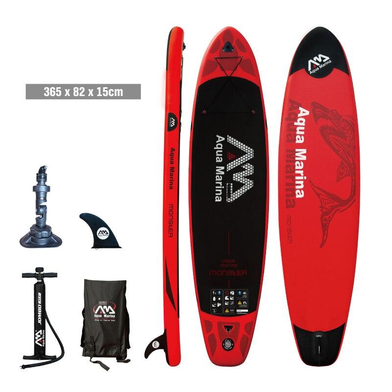 Серфинга 365*82*15 AQUA MARINA Монстр надувная доска для сапсерфинга стоячего доска каяк для серфинга спорт надувные лодки A01002