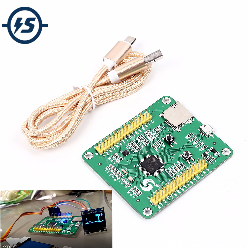 STM32 STM32F405RGT6 USB IO Core MicroPython Development Board Module STM32F405 for Python Gravity Acceleration Sensor IOT + Wire broad paracord