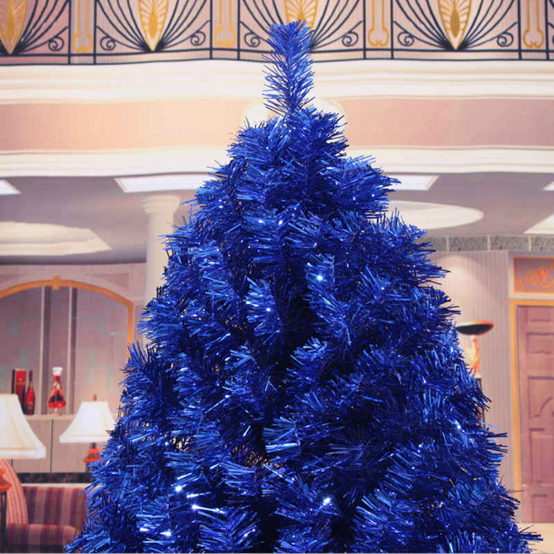 Us 189 0 Christmas New Year Gift 1 8m 180cm Navy Blue Christmas Tree Ornaments Christmas Gift Ornaments Supplies In Christmas From Home Garden