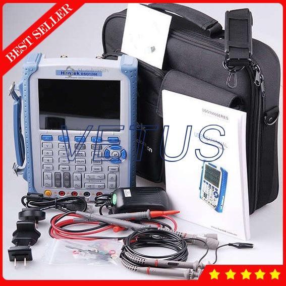 все цены на 5 in 1 Handheld Digital Oscilloscope Hantek DSO8060 DMM / Spectrum Analyzer / Frequency Counter / Arbitrary Waveform Generator онлайн