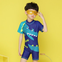 Kids Bathing Suit Sexy Swimsuits Baby Clothes Swimwear Boys 2018 New Children Crocodile Boy One Animal Polyester Sierra Surfer