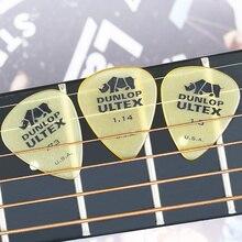 1 pc Dunlop Ultex Standard Guitar Picks Plectrum Mediator 0.6mm/0.73mm/1.0mm/1.14mm Bass Acoustic Electric