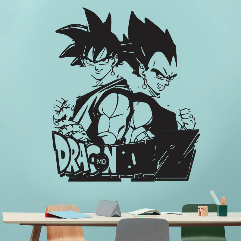 Drangonball z super Goku Vegeta Broly Frieza anime Car Room Laptop Wall sticker