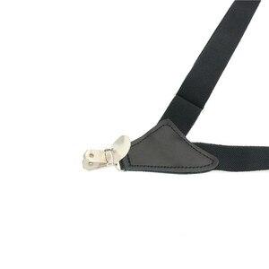 Японская кобура на подтяжках X back, деловая, повседневная, однотонная, из натуральной кожи, прочная, легкая, с клипсой, с ремнем для штанов