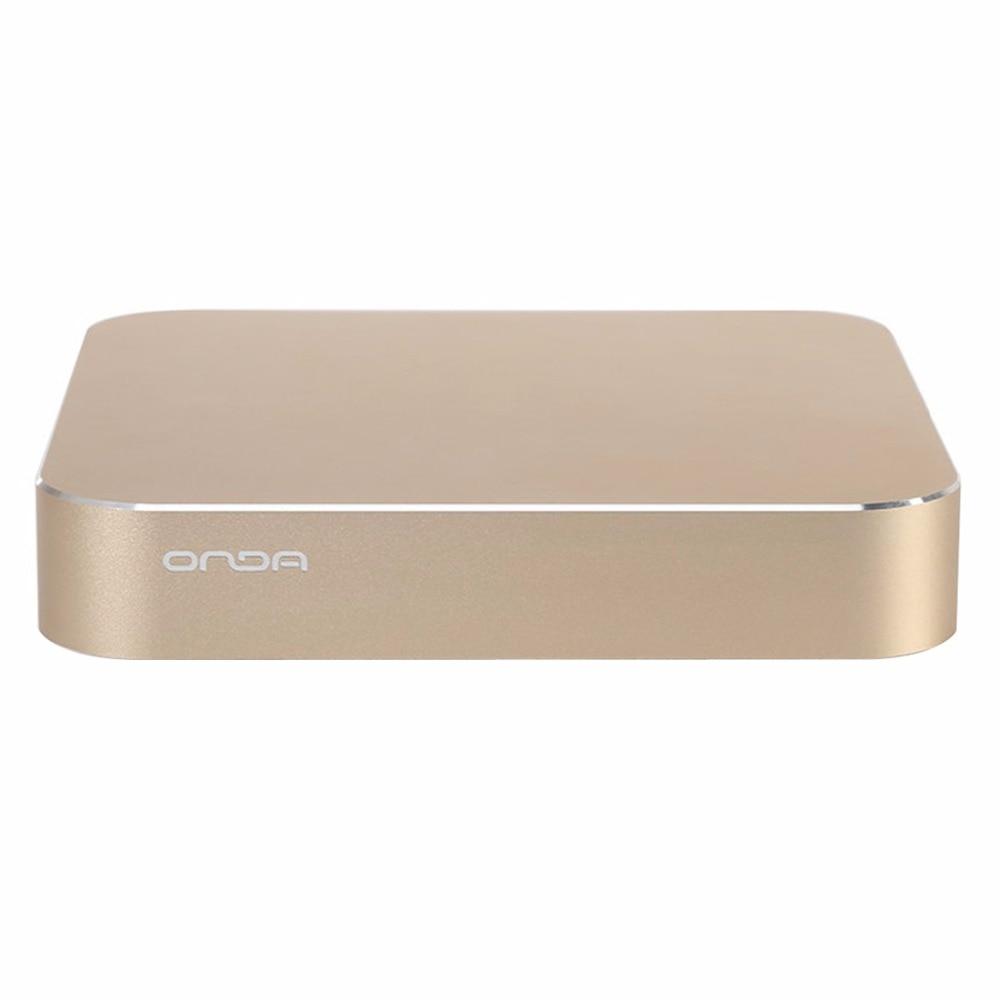 Original ONDA M3-B81 Windows 10 Intel Celeron G1840 Aluminum Alloy Mini PC RAM 4GB ROM 120GB Support WiFi / Bluetooth / VGA