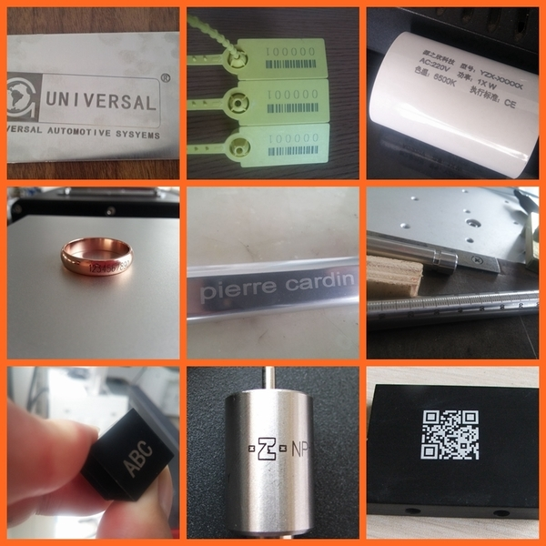 Macchina per marcatura laser a fibra ottica di design compatto ad - Attrezzature per la lavorazione del legno - Fotografia 5