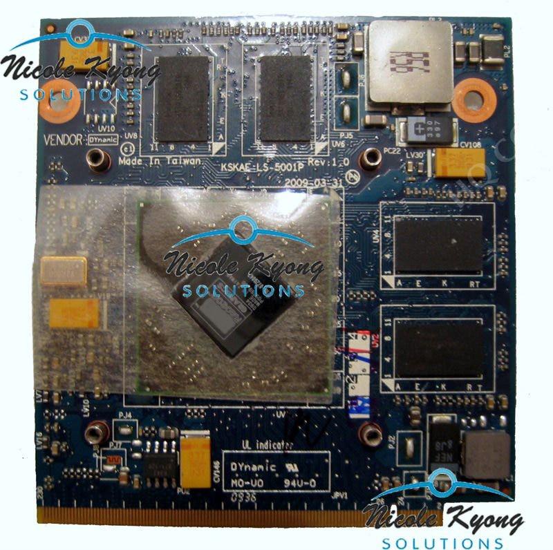 HD4650 M96 1G 216-0729042 K00005001 WK910 K LS-5001P KSKAE DDR3 VGA Video Card for TOSHIBA A500 L500 L550 laptop