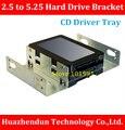 Высокое Качество 2.5 дюймов до 5.25 дюймов Жесткий Диск Кронштейн CD Дисков Лоток Лоток Жесткого Диска Настольного Ноутбука SSD Преобразования
