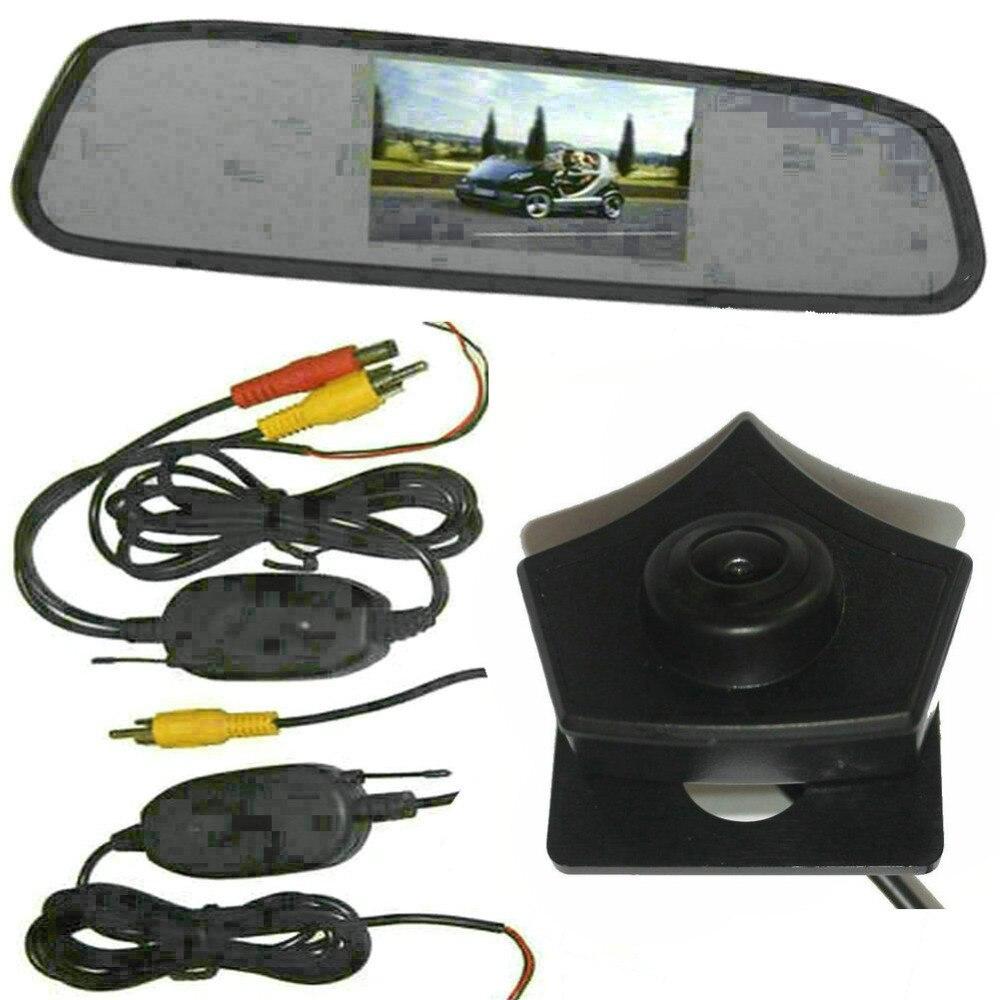 ChuangQian CCD caméra de vue avant de voiture 4.3