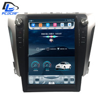 32G ROM Vertical screen android car gps multimedia video radio player in dash for toyota camry 2012 2017 years car navigaton