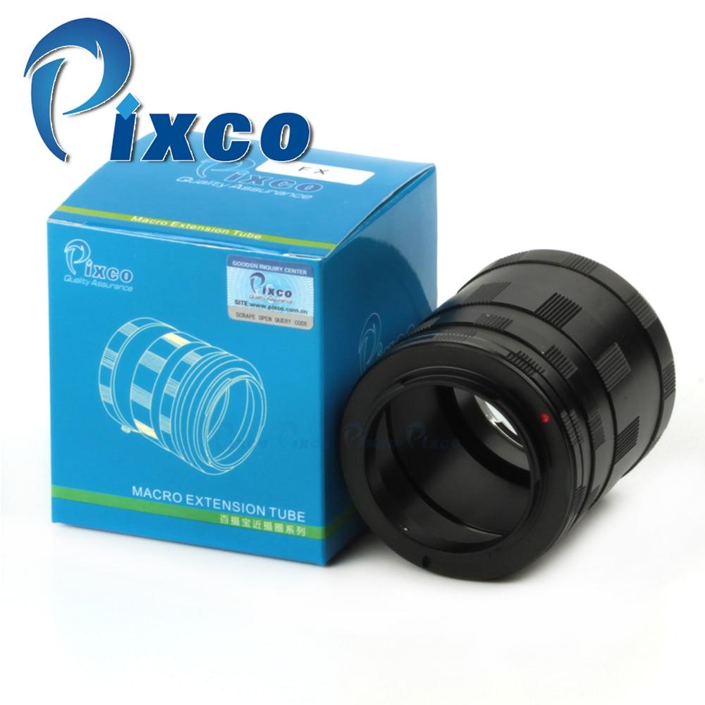 Lentille Macro Extension Tube Adaptateur Bague Pour Fujifilm X-Pro1 X-E1-E2 x X-M1 X-A1