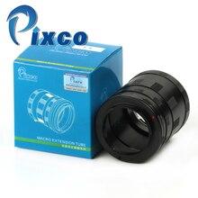 Obiektyw makro rura przedłużająca pierścień pośredniczący zestaw do Fujifilm X Pro1 X E1 X E2 X M1 X A1