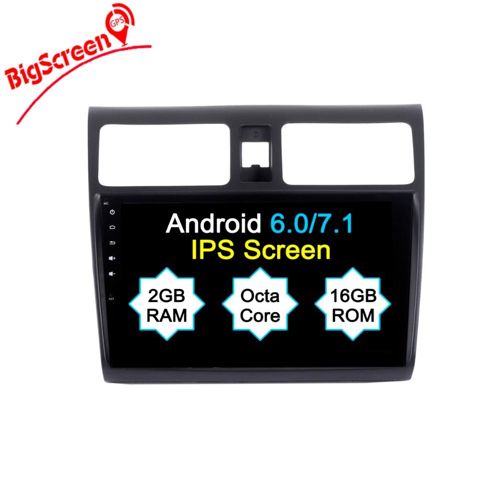 10.1 Inch Android 8.0 Car DVD Player for Suzuki Swift 2004 2010 GPS Navigation Radio BT USB Stereo 4G WIFI Auto Stereo Headunit
